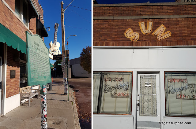 Sun Studio, berço do Rock'n'Roll