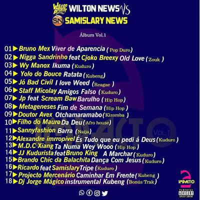 Wilton News Vs Samislary News - 2 Impacto Vol.1 (Álbum 2019) Download Mp3