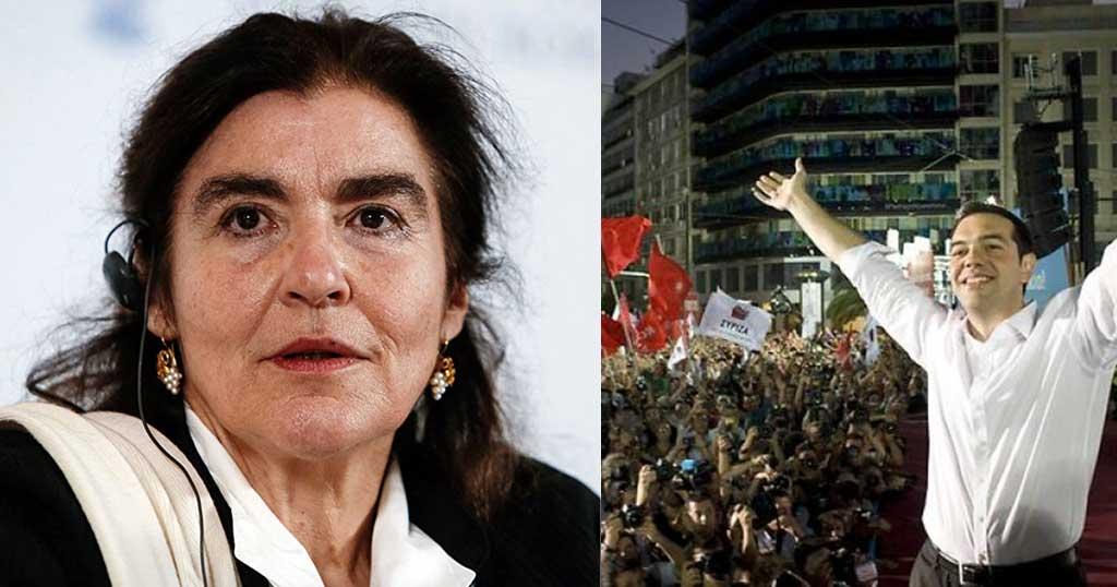 Κονιόρδου: «Χαρισματικός ηγέτης ο Αλέξης Τσίπρας»
