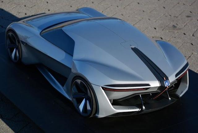 Fantastic, This German Student Designing VW GT Electric Sports Car Ge