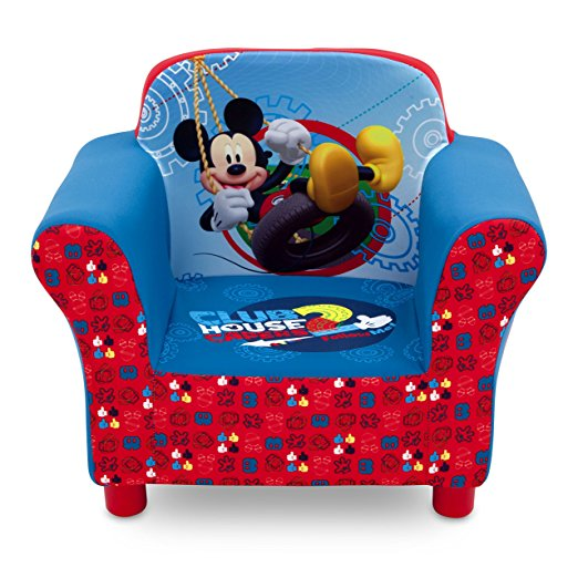 I Was Super Impressed With The Delta Children Mickey Mouse Upholstered Chair.  This Chair Was Made Perfectly. Super Comfortable And Extremely Durable.