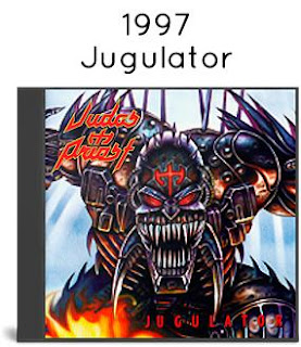 1997 - Jugulator [Steamhammer, SPV 085-18782, Germany]