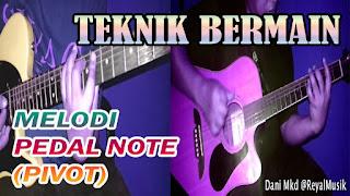 Belajar Melodi Gitar Pemula Dasar