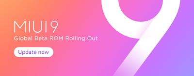 MIUI 9 ROM Update September