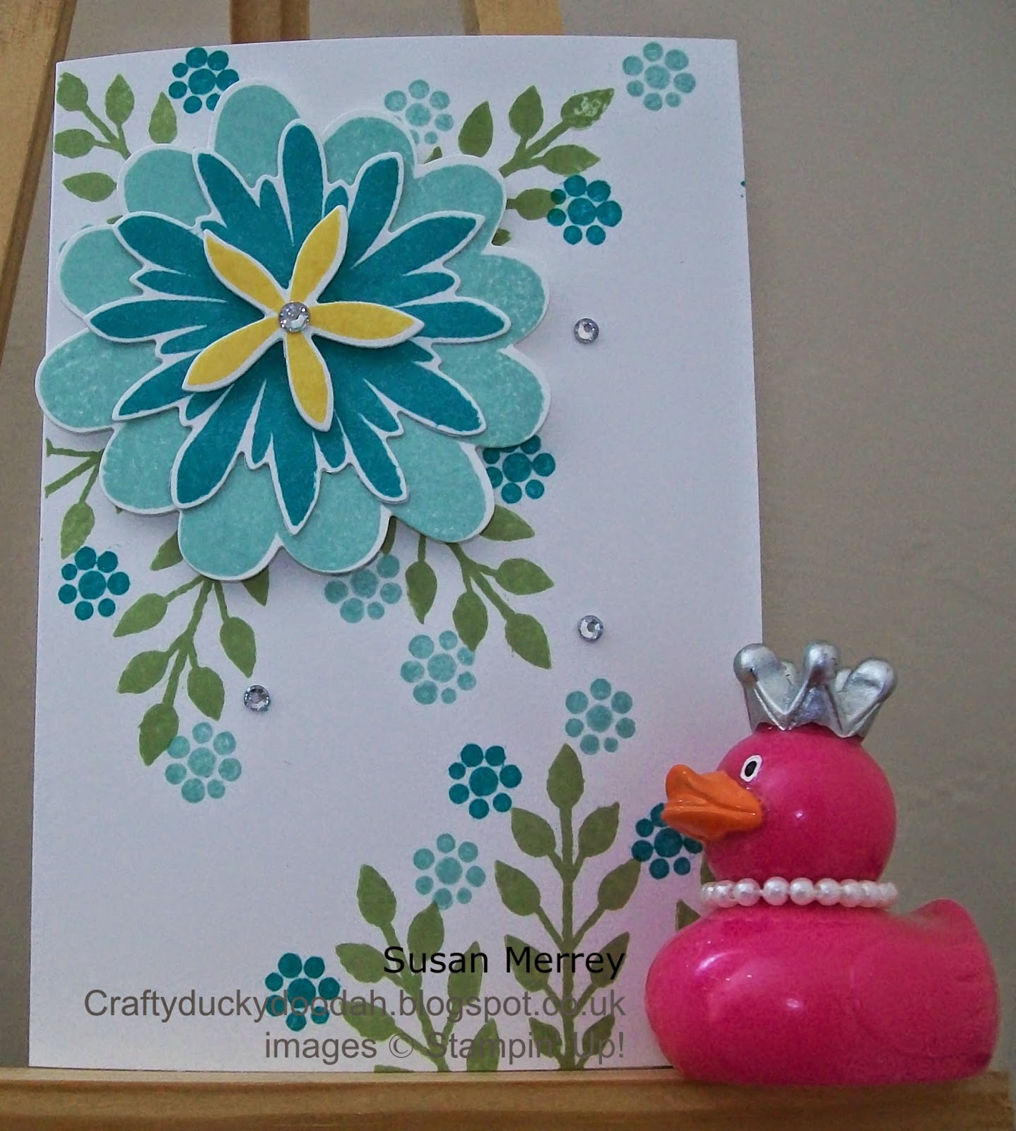 Stampin' Up! Flower Patch, Flower Fair Framelits Dies, Envelope Punch Board, Craftyduckydoodah!, Made by Susan Merrey