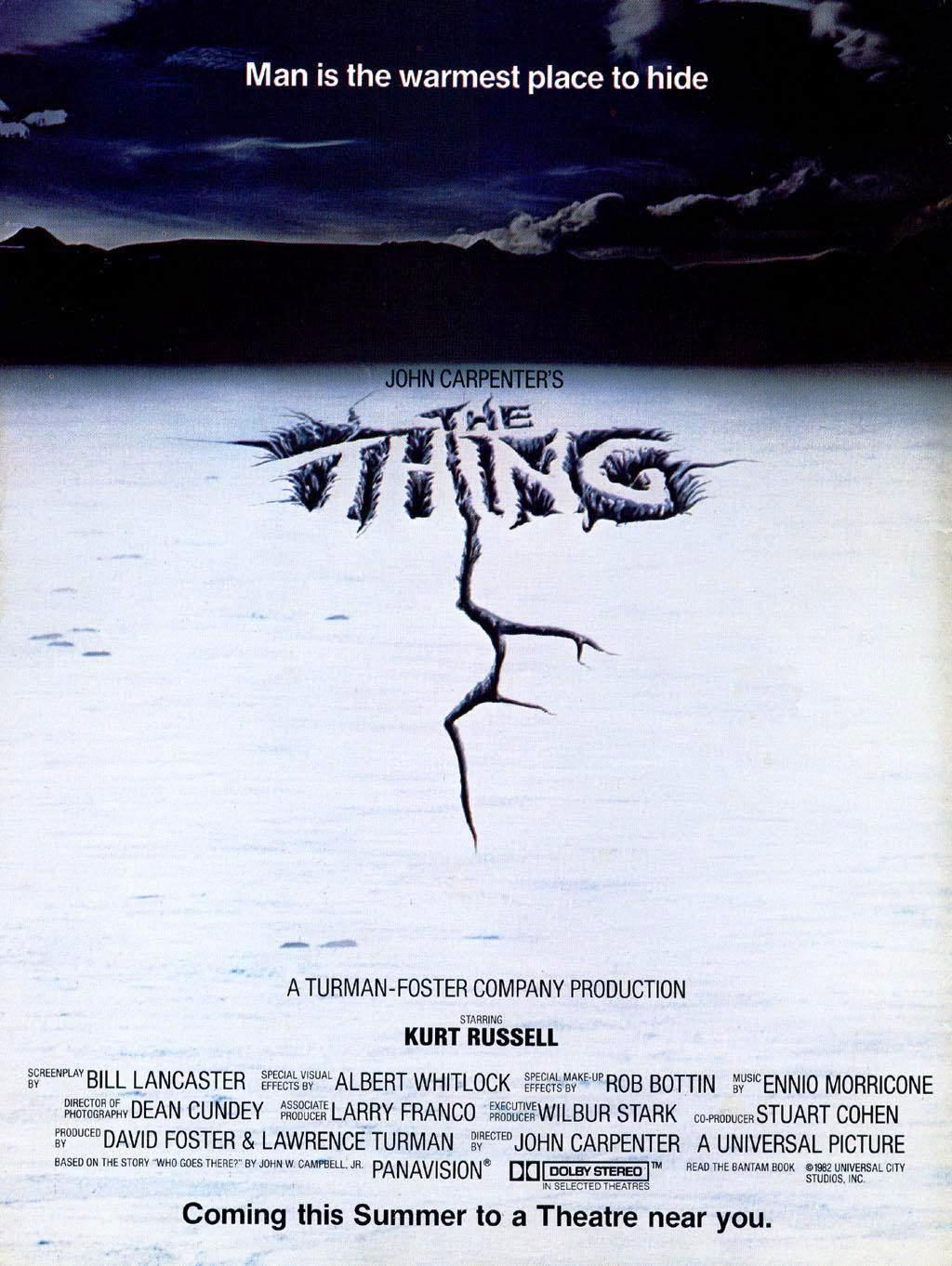 Image result for the thing poster man is the warmest place