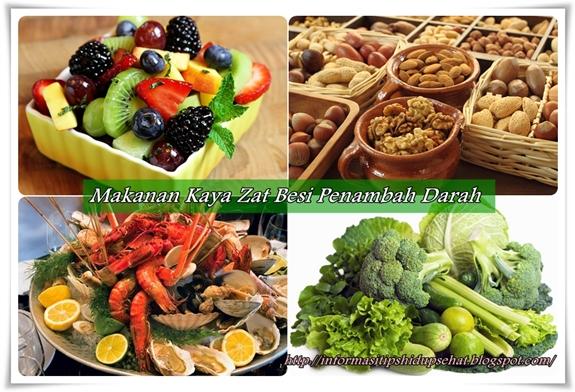 Daftar Makanan Penambah Darah Untuk Penderita Anemia
