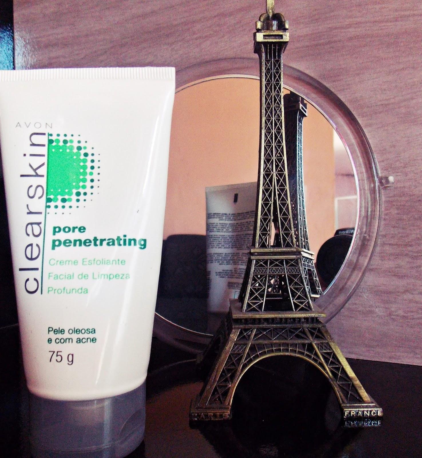 Produtos para limpeza de pele - Creme esfoliante facial Avon