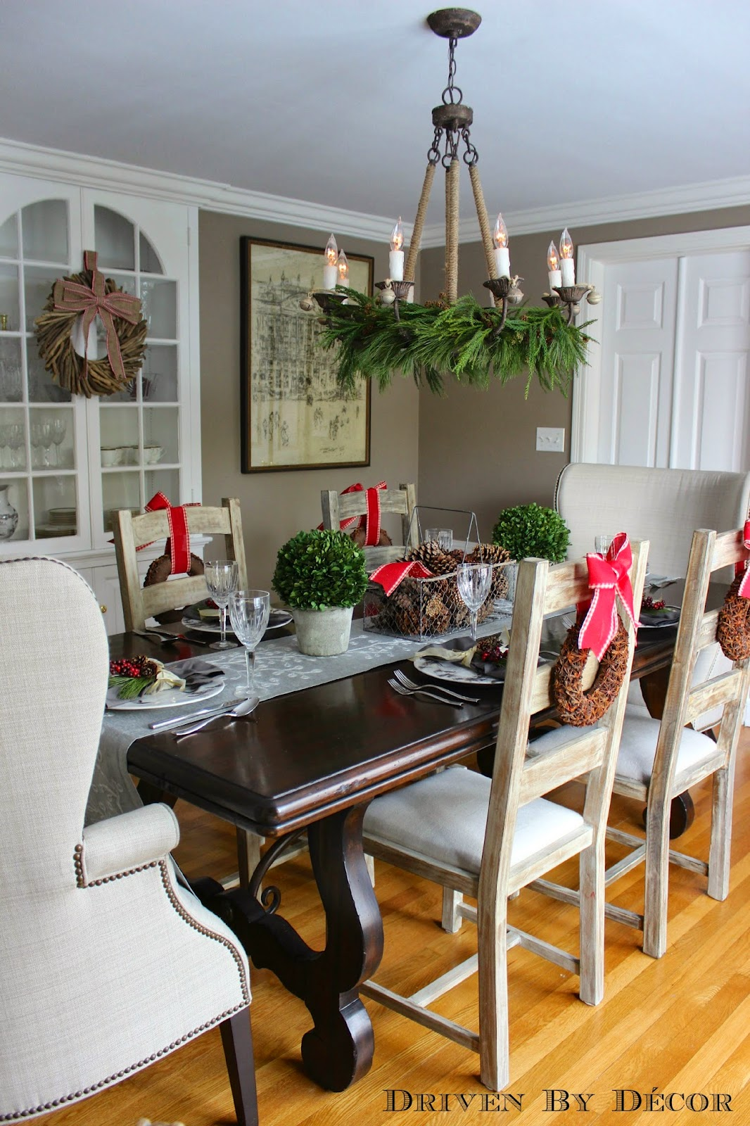 Our christmas home tour driven by decor - Christmas room decor ideas ...