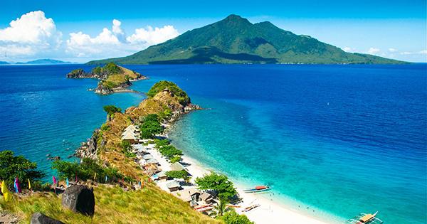 Sambawan Island Near Leyte, Philippines