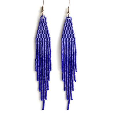 купить синие серьги серьги под стрижку пикси оригинальные украшения купить в интернет магазине