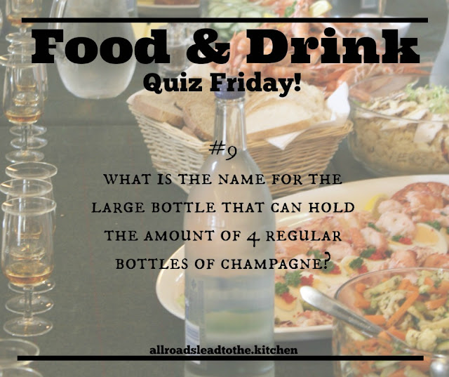 Food and Drink Quiz Friday #9