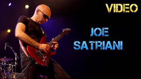 Vídeo Biografía Joe Satriani