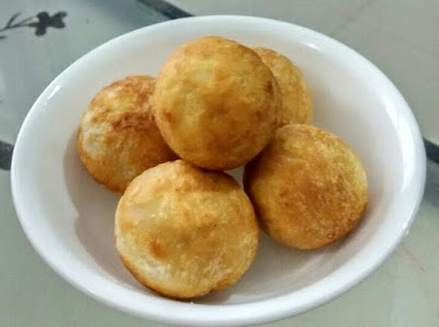 Matar Kachori Made in Airfryer