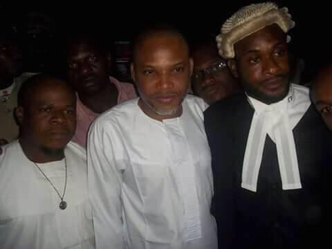 Biafra News: See How Nnamdi Kanu's 'Fully Loaded' Petition That Made Justice Tsoho To Step Down (Photos)