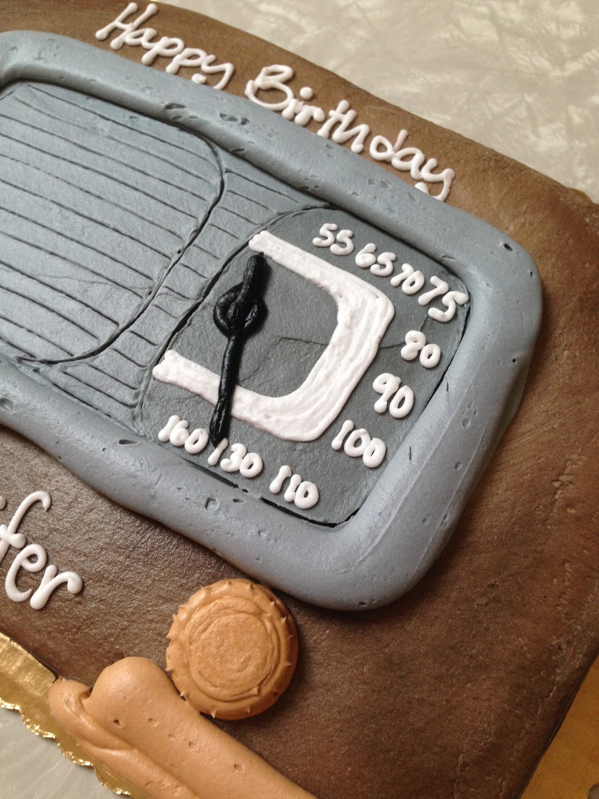 Color My World: Old Time Radio Birthday Cake