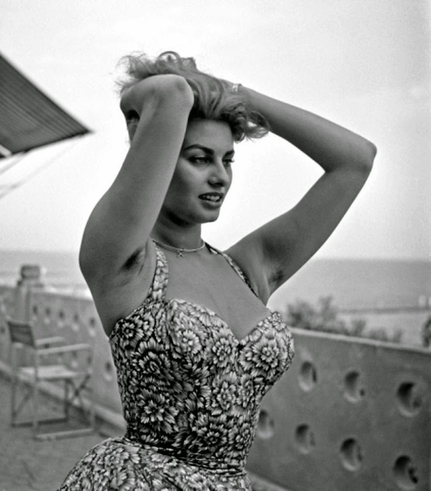 Sophia loren armpits really. agree