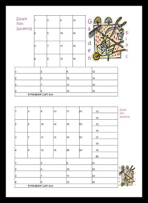 square foot gardening planner