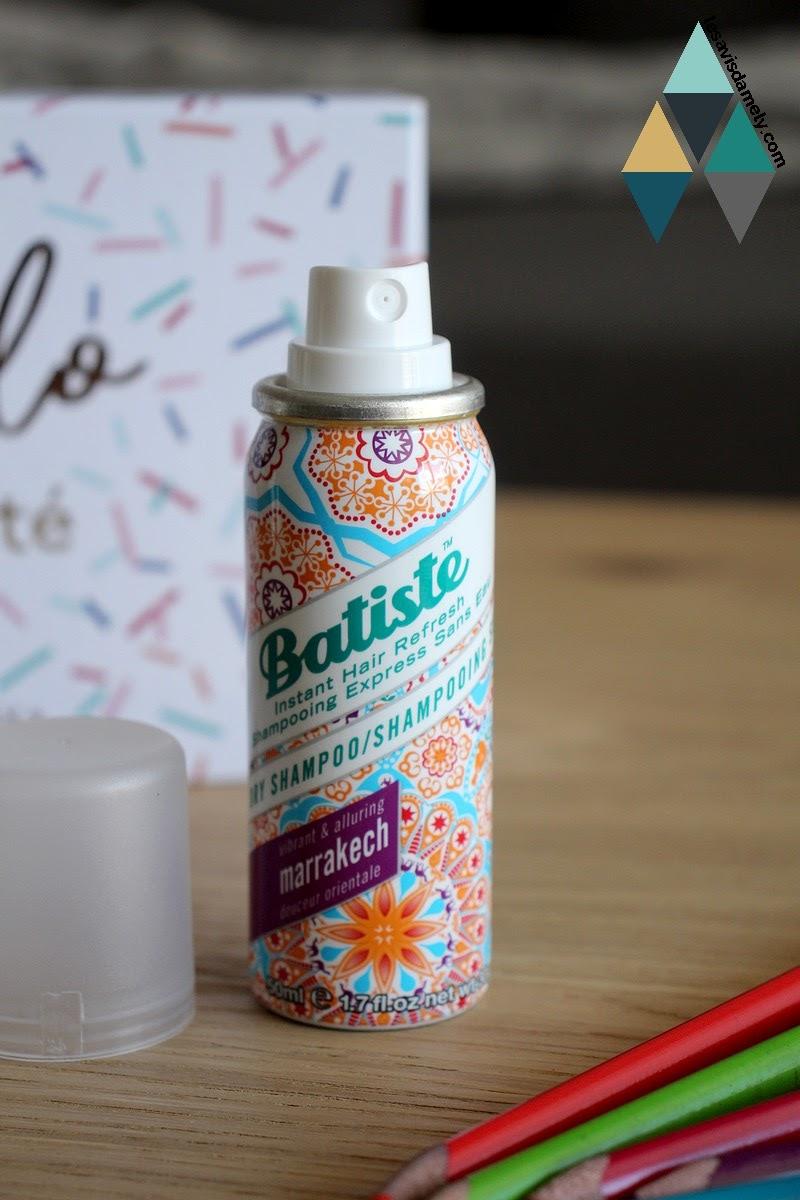 shampooing sec Batiste marrakech orientale
