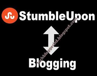 StumbleUpon in Blogging