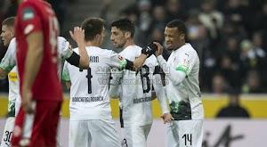 بوروسيا مونشنغلادباخ يحقق الفوز على فريق ماينز بثنائية في الجولة 19 من الدوري الالماني