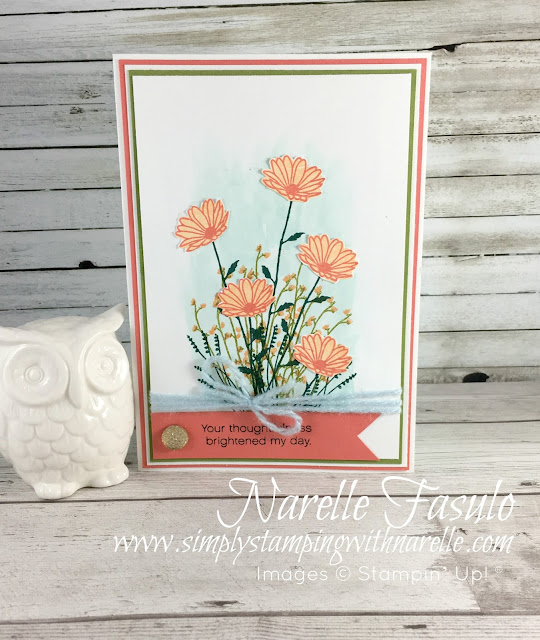 Celebrate World Card Making Day with a 15% off sale on this stamp set - Hurry it's only till Oct 10. Don't miss out and shop the sale today - https://www3.stampinup.com/ECWeb/CategoryPage.aspx?categoryid=300060&dbwsdemoid=4008228 - Simply Stamping with Narelle
