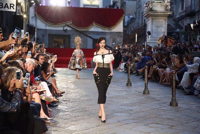 Dolce and Gabbana Alta Moda Fashion Show - Naples, July 2016