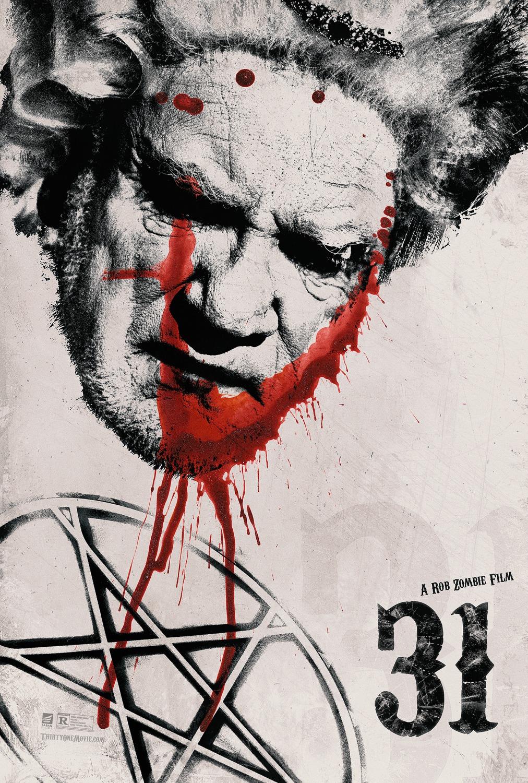 Dos nuevos pósters de personajes de '31', escrita y dirigida por Rob Zombie
