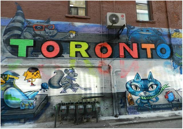 Graffity Alley - o melhor lugar em Toronto para quem curte street art