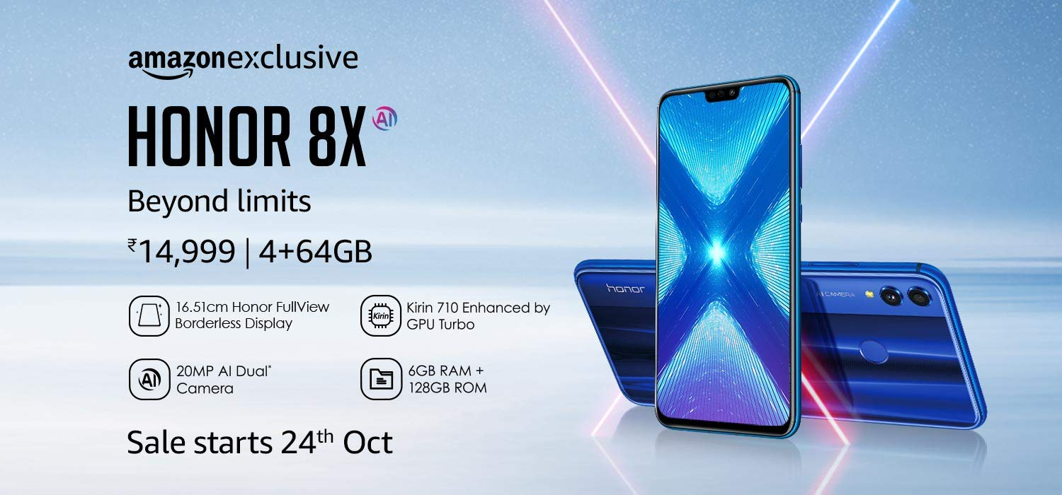 Honor 8X Price in India, Specs and Features [ Amazon Exclusive ]
