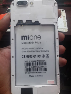 MIONE i7s PLUS MT6580 FLASH FILE MT6580 5 1 100% TESTED