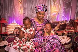 Zahra buhari's  cultural henna pre-wedding party