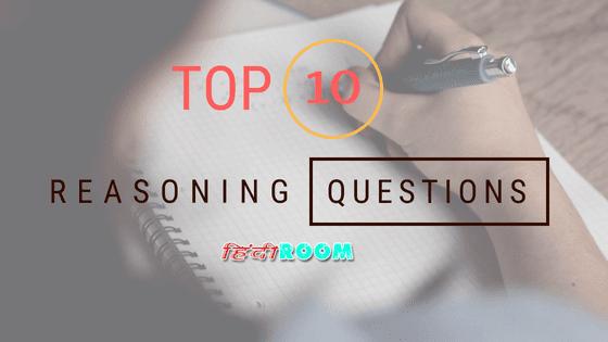 महत्वपूर्ण Reasoning Questions हिंदी में