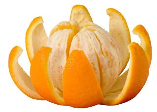 kulit jeruk dapat menghilangkan kuku kuning