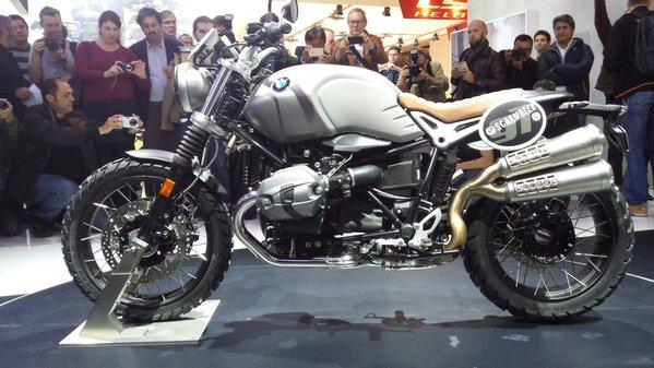 Bmw Motorrad Uk New Bmw R Ninet Scrambler Leads The Charge Of 2016