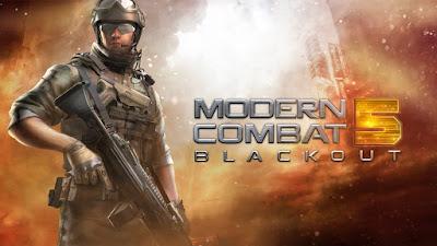 Modern Combat 5: eSports FPS v2.8.0q APK + DATA