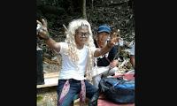 Jadi Pusat Perhatian Saat Cumok Kunjungi Wisata Saray Brunyau Kapuas Hulu