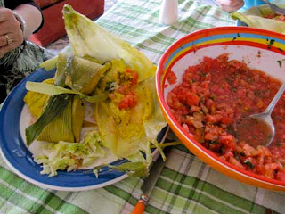 Chilean Lunch of Humitas Vina del Mar Chile