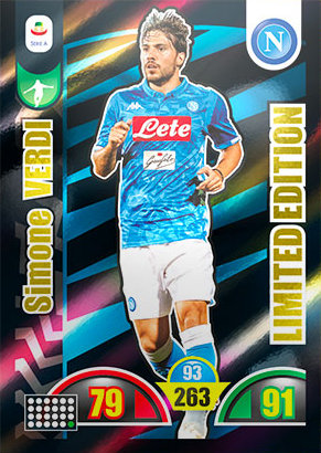 Adrenalyn Calciatori 2018 2019 panini LIMITED EDITION VERDI E KOLAROV