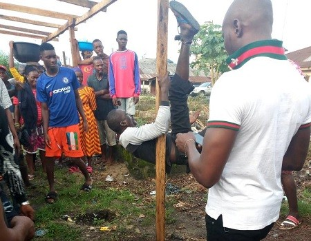 Middle-aged man beaten by angry youths for raping 7-year-old girl in Warri
