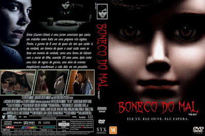 Filme Boneco do Mal (The Boy) DVD Capa