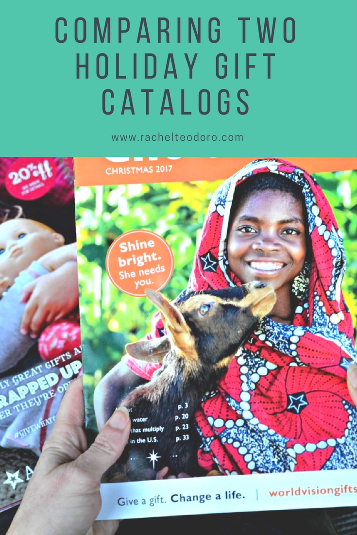 World Vision Christmas Gifts Part - 17: Comparing Two Holiday Gift Catalogs
