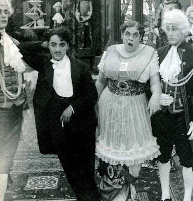"Чарли Чаплин и Мари Дресслер в ""Прерванном романе Тилли"" (1914) - 2"