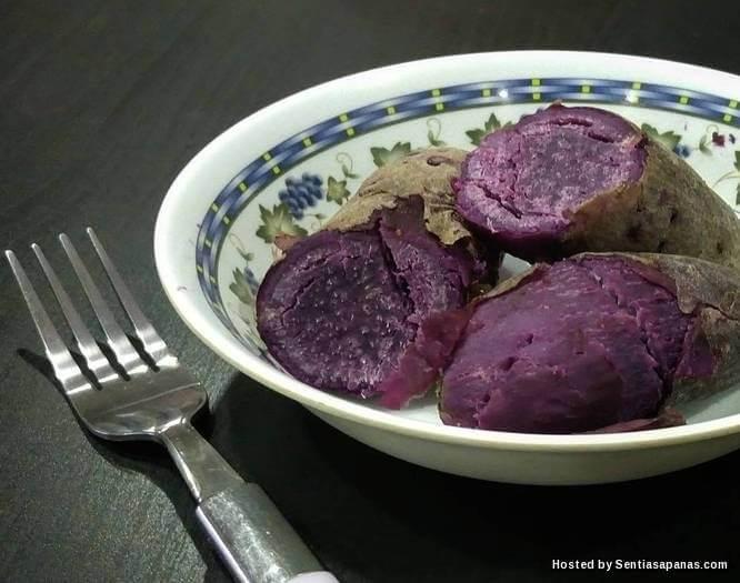 Keledek ungu