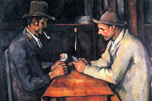 Card Players Paul Cezanne Paintings