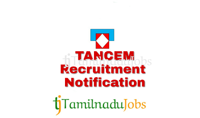 TANCEM Recruitment notification of 2018