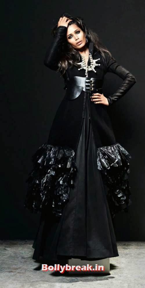 Freida Pinto Vogue India  Black Magic