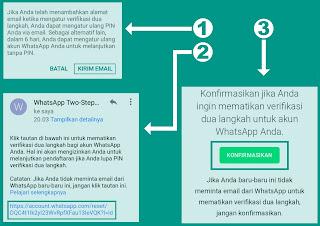 cara mematikan verifikasi dua langkah pada whatsapp ketika lupa pin
