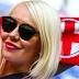 Hottest England Beautiful Girls during FIFA 2018 Sweden vs England Quarter Final Match