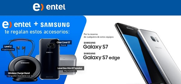 SAMSUNG GALAXY S7 - S7 EDGE OFICIAL ENTEL